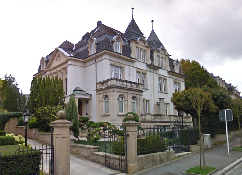 Rothschild's former Luxembourg offices where the Bogdanchikov paperwork was signed. Source: Google